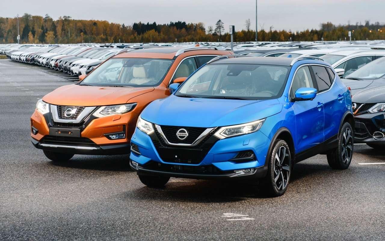 Nissan начал продажи Qashqai иX-Trail 2021 года— фото 1247251