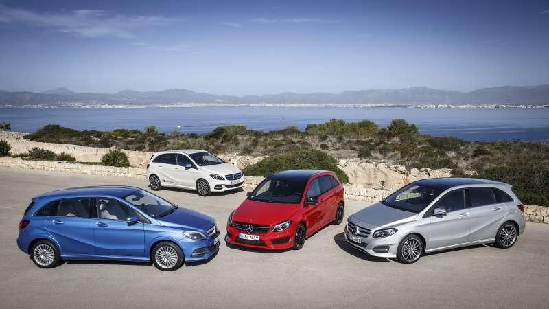Mercedes-Benz B-Klasse Familie