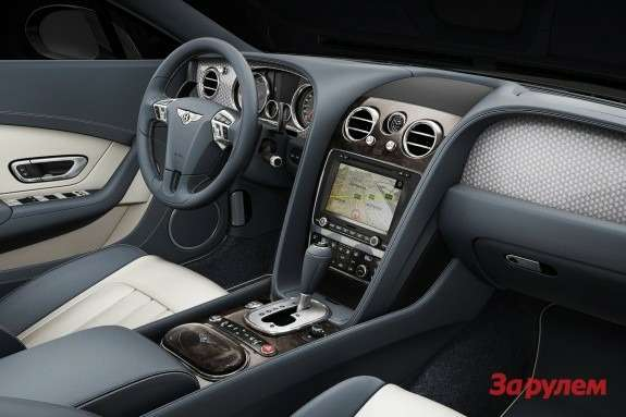 Bentley Continental GT V8 inside