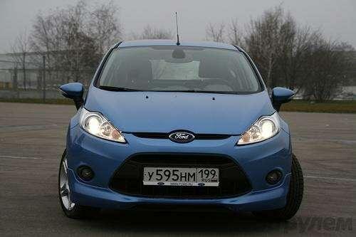 Тест Ford Fiesta Sport: Кинетический антидепрессант (ВИДЕО)— фото 5938