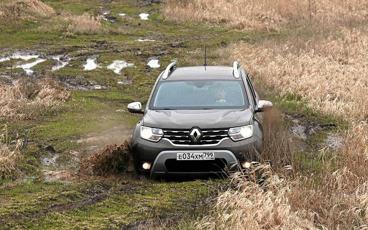Renault Duster или Hyundai Creta: какой кроссовер подходит именно вам?— фото 1254822