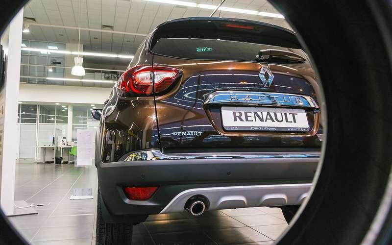Названы самые популярные модели Renault вРоссии