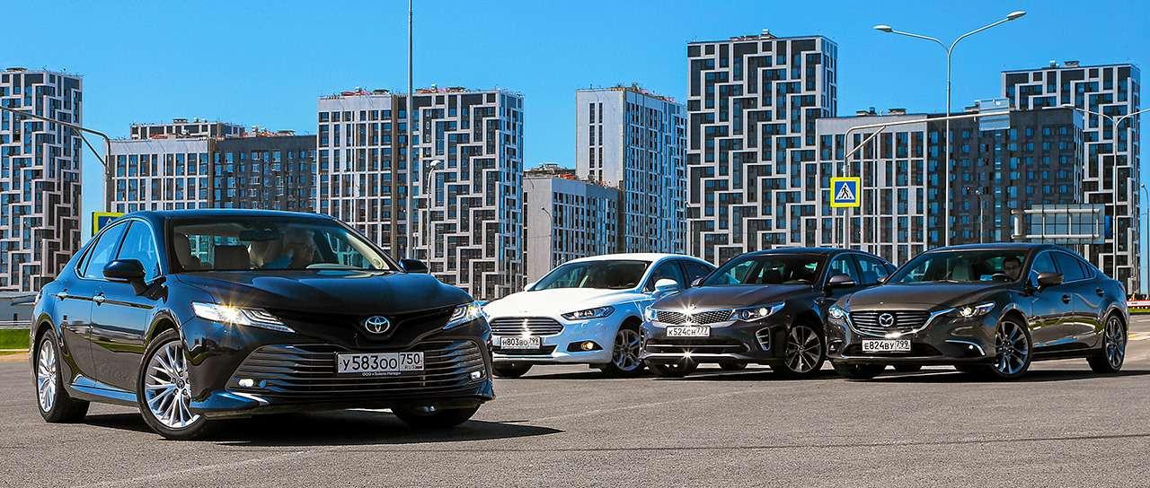 Toyota Camry против конкурентов— сравнительный тест— фото 882422