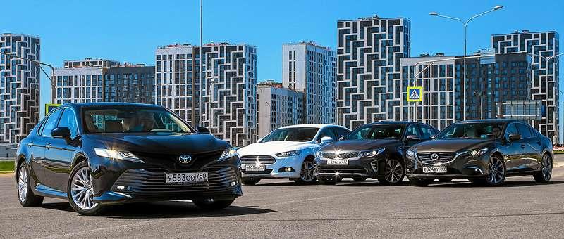 Toyota Camry против конкурентов— сравнительный тест