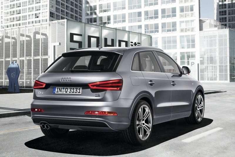 Audi Q3S line rear view