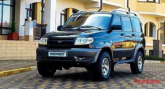 «УАЗ-Патриот», 672 тыс. руб.