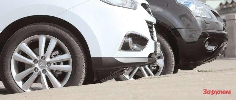 Hyundai ix35и Renault Koleos