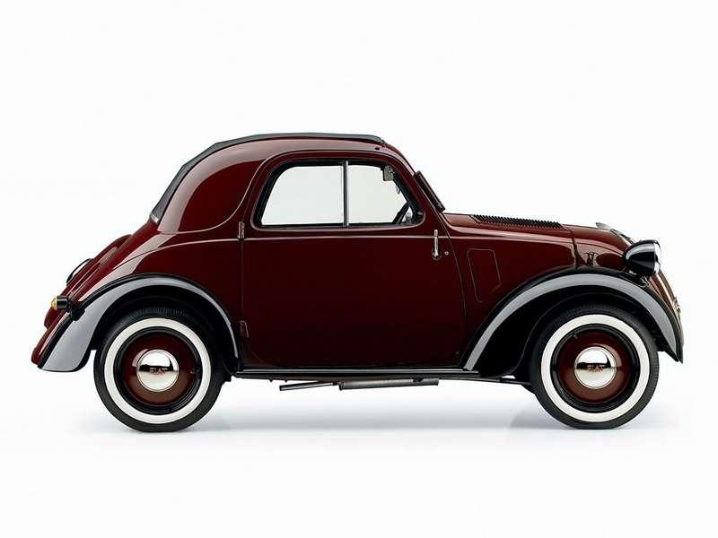 Прозвище «Мышонок» Fiat-500 получил наволне популярности мультфильмов оМикки-Маусе.