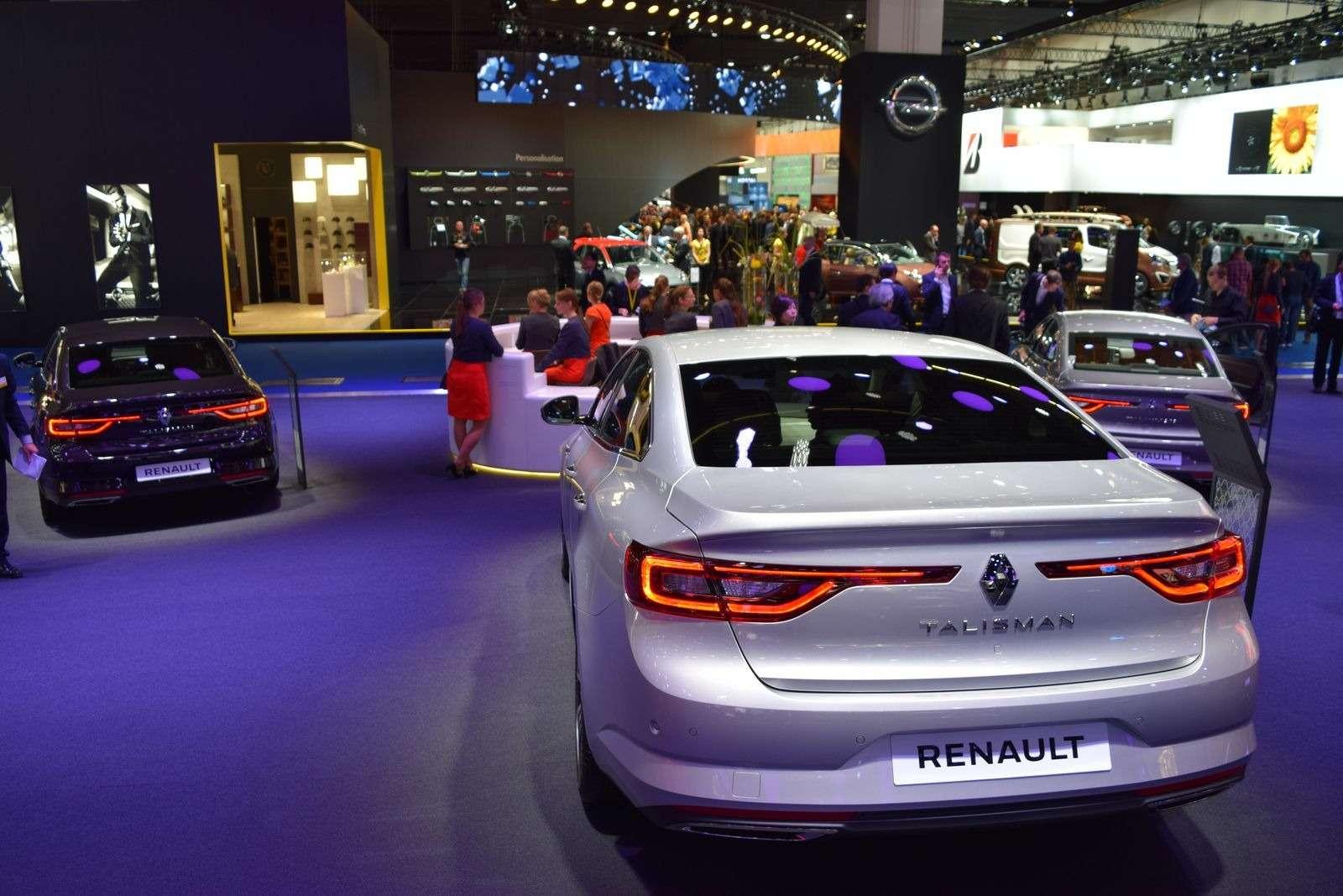 Renault Talisman заедет вавтопарк президента Франции— фото 390903