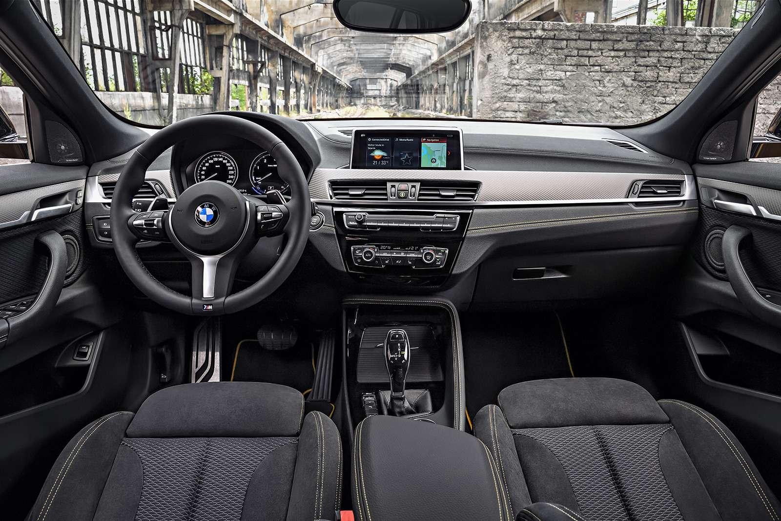 BMWрассекретила российские цены накроссовер X2— фото 809826