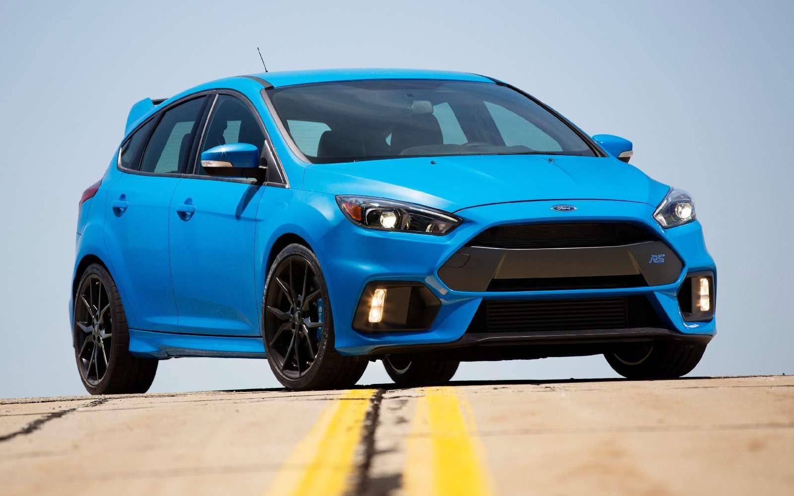 Электронный ручник длядрифта? 999 долларов, Ford Focus RS, ионваш— фото 812593