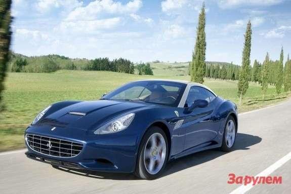 2012 Ferrari California side-front view 2