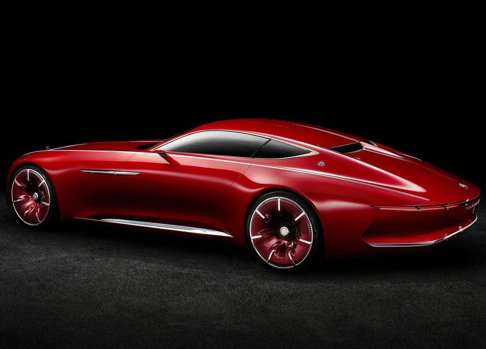 Vision Mercedes-Maybach 6будет соблюдать тишину— фото 621478