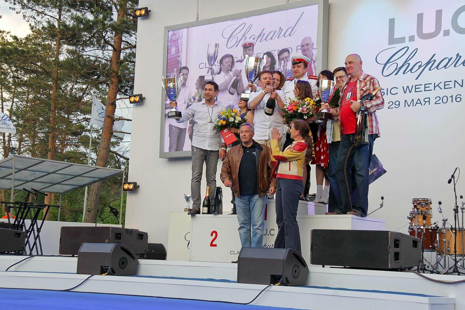 L.U.C Chopard Classic Weekend Rally: эмоции сналетом старины— фото 595966
