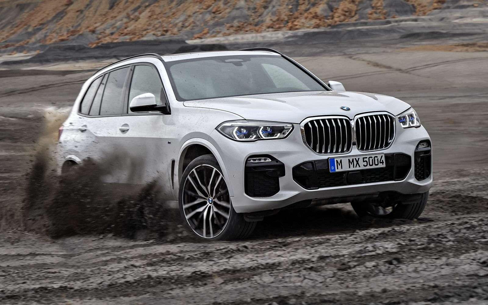 Новый BMW X5: приборная революция!— фото 876639