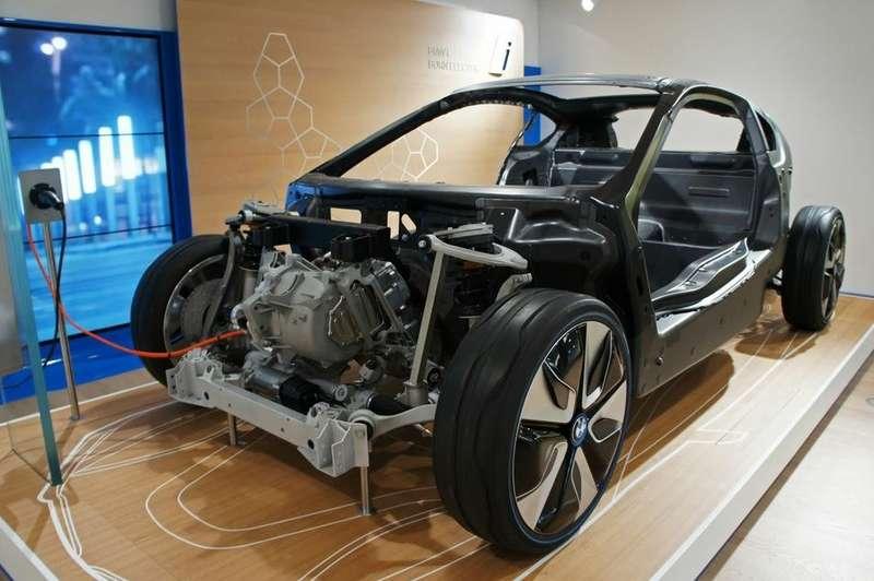 nocopyright BMW i3Carbon Fiber Body