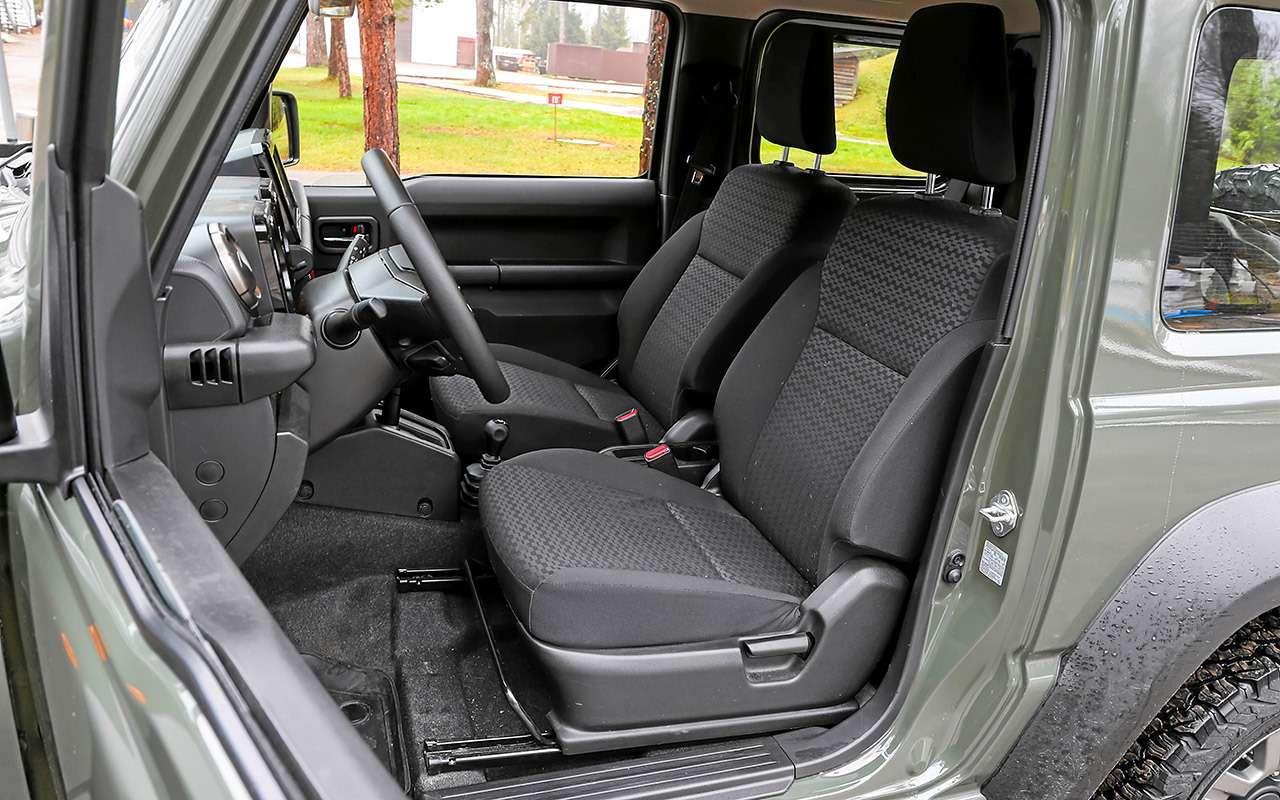 Удовольствия за1,5млн: Kia Soul против Suzuki Jimny— фото 1085639