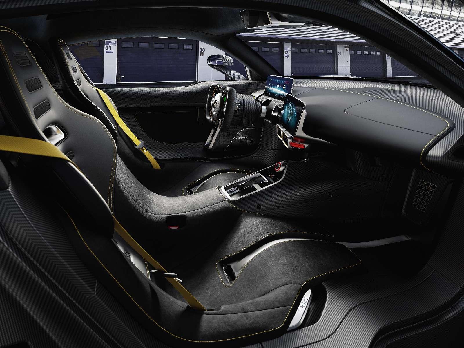 Mercedes-AMG Project One: 1000-сильный гиперкар с1,6-литровым мотором— фото 793635