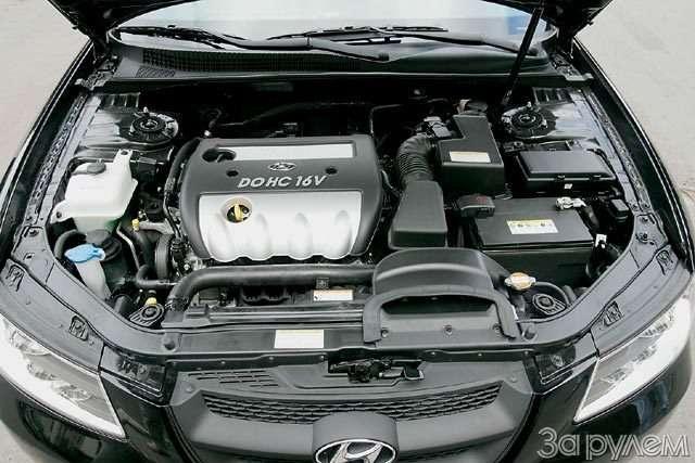 Hyundai NF, Hyundai Sonata. Налигу выше— фото 59054