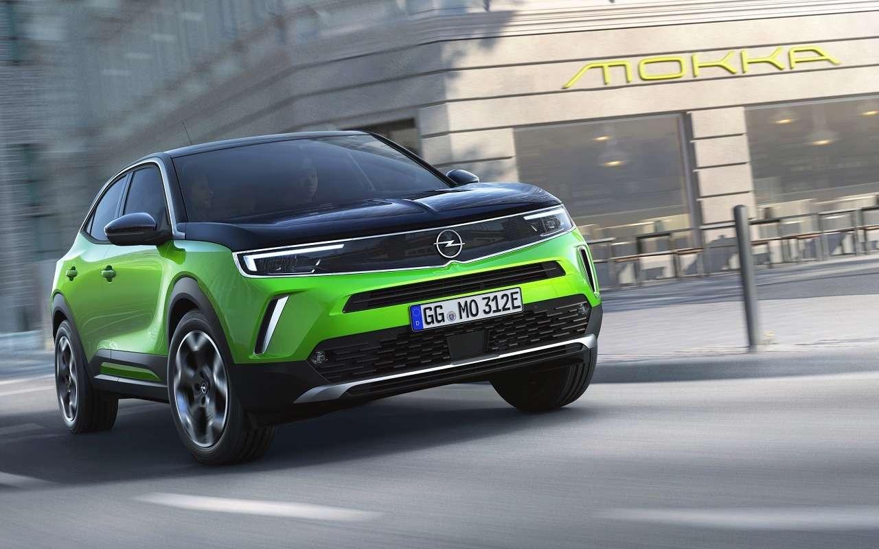 Opel представил новое поколение Mokka— фото 1141666