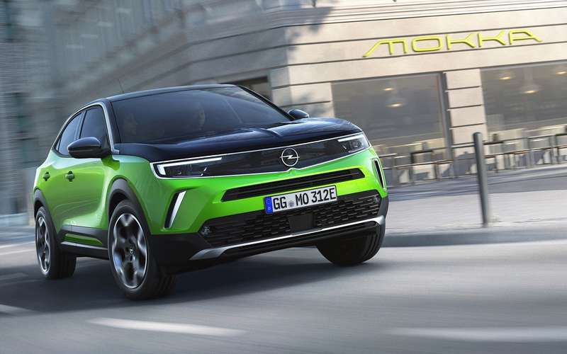 Opel представил новое поколение Mokka