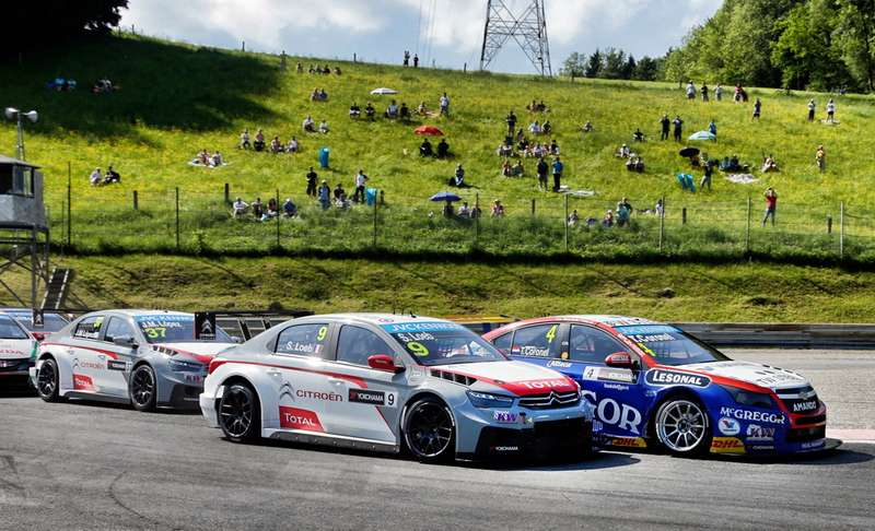 FIAWORLD TOURING CAR CHAMPIONSHIP 2014— SALZBURGRING