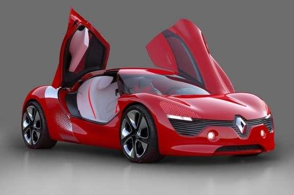 Renault DeZir Concept side-front view