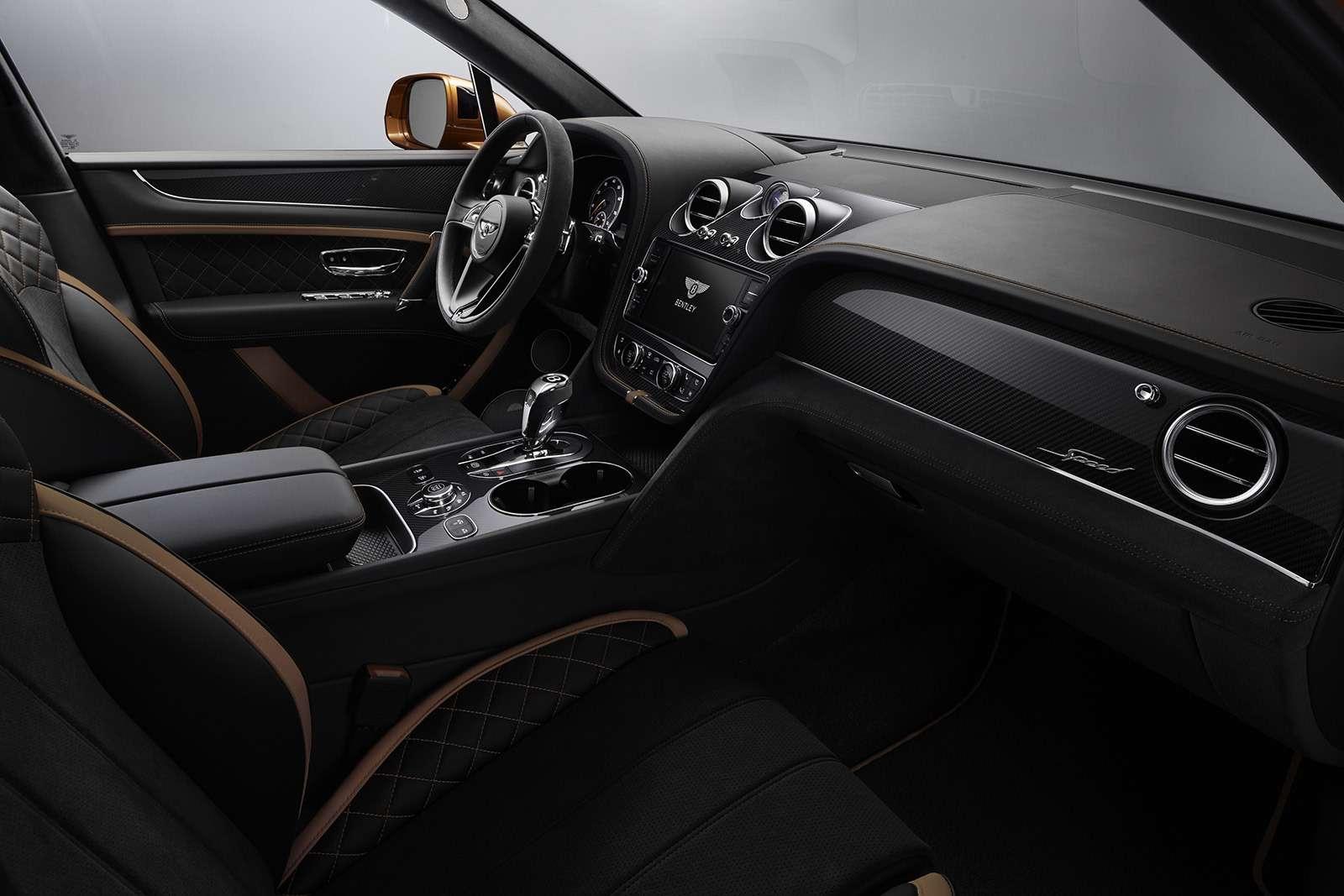 Самый быстрый внедорожник— теперь это Bentley— фото 949181