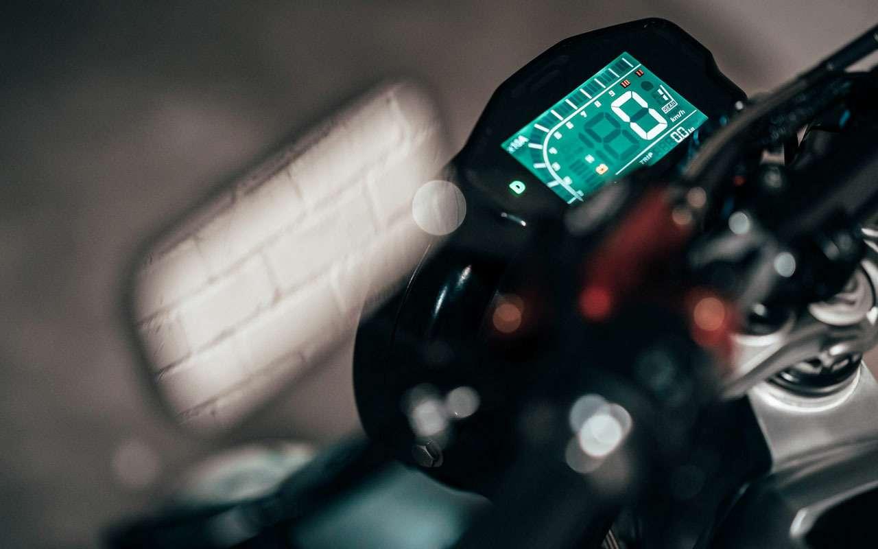 Sondors Metacycle— необычный мотоцикл длягорода— фото 1217059