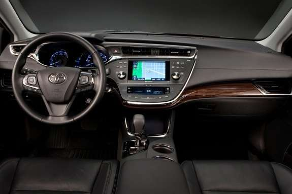 Toyota Avalon inside