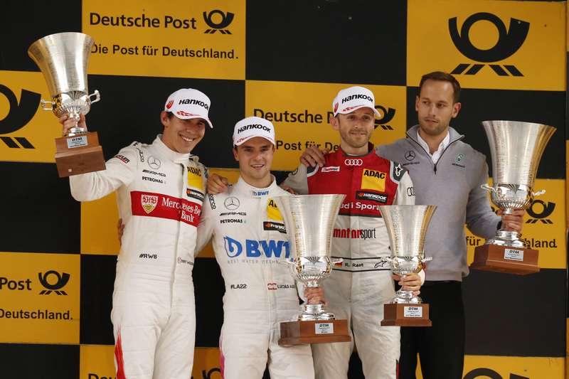 DTM, Moscow Raceway, Mercedes, Mercedes-Benz, Лукас Ауэр, Герхард Бергер