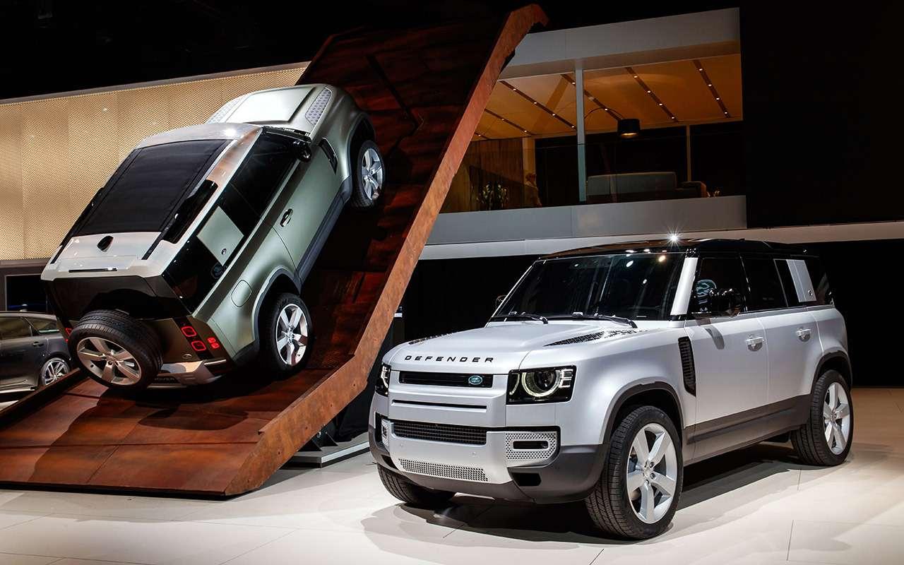 Новый Land Rover Defender: все его главные особенности— фото 1002762