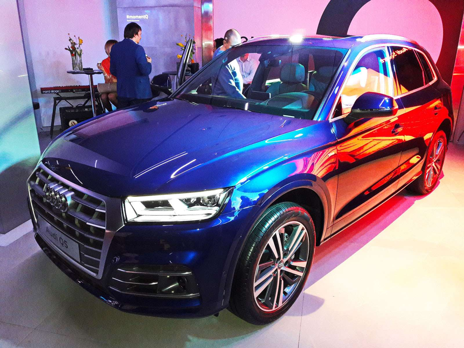 Audi Q5заглянул вМоскву изПарижа— фото 644541