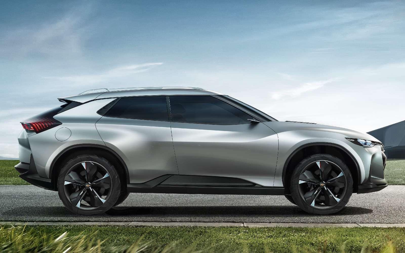Chevrolet FNR-X: американские ценности икитайский форм-фактор— фото 739349