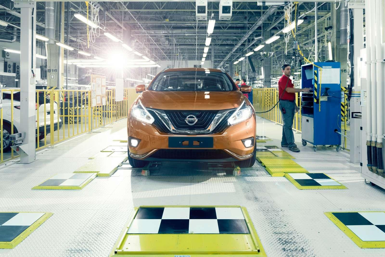 Новый Nissan Murano начали собирать вРоссии— фото 600523