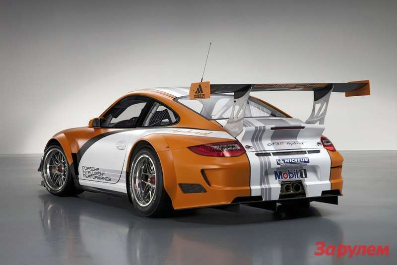Porsche 911GT3R Hybrid