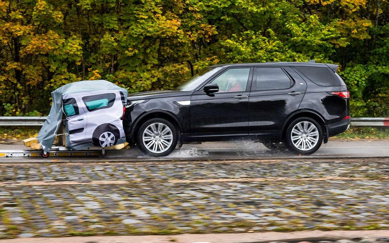 Тест систем автоторможения: богатые тоже врезаются— фото 848909