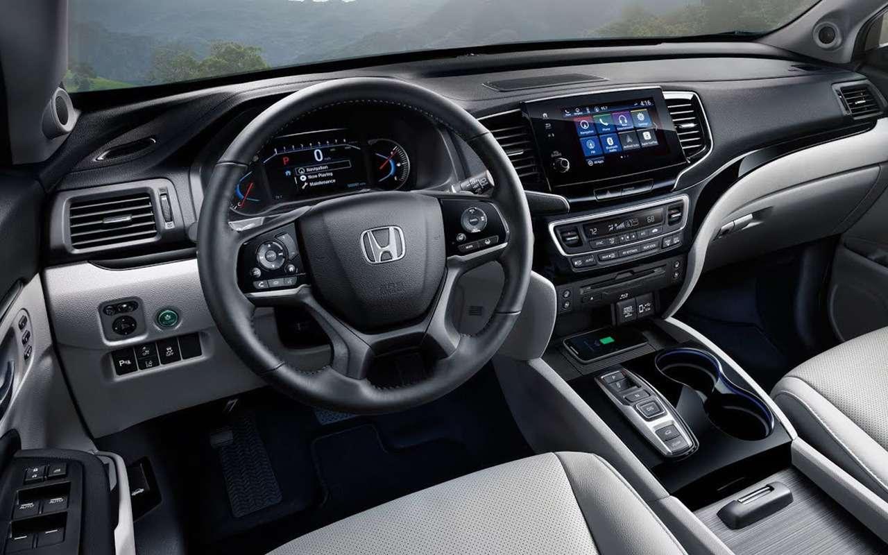 Honda Passport SUV 2019на автосалоне вЛос-Анджелесе: привет изпрошлого— фото 929302