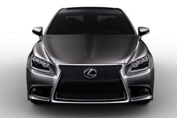 Lexus LSfront view