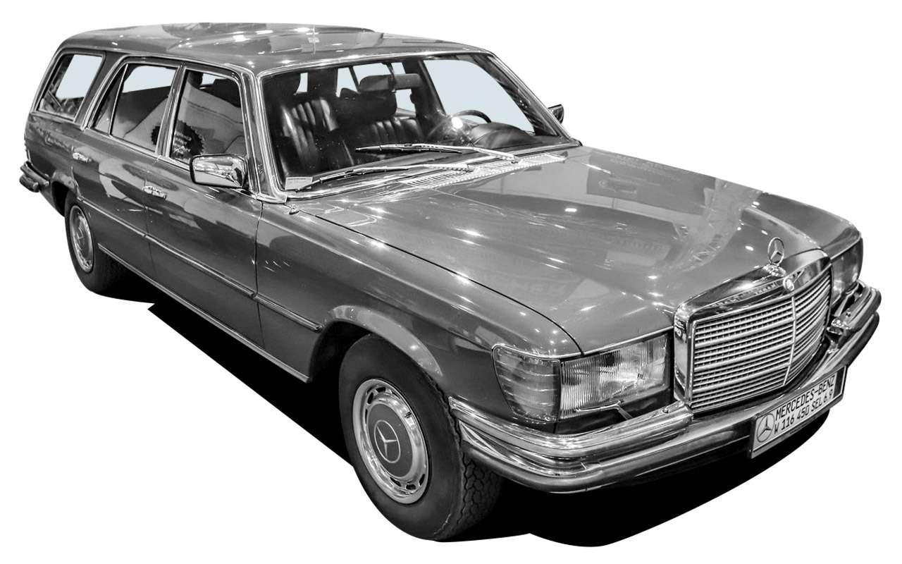 Машина Высоцкого, Карпова иБрежнева: первый вистории S-класс— фото 1210012