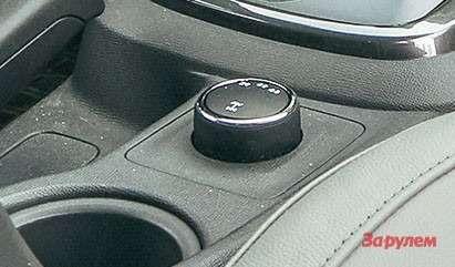 Chevrolet TrailBlazer селектор трансмиссионных режимов