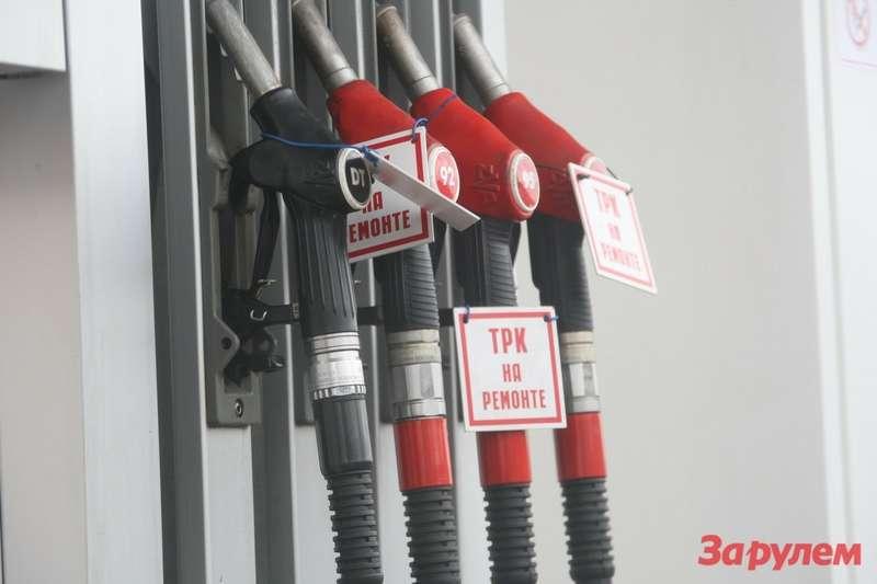 Бензин дорожает из-за падения рубля