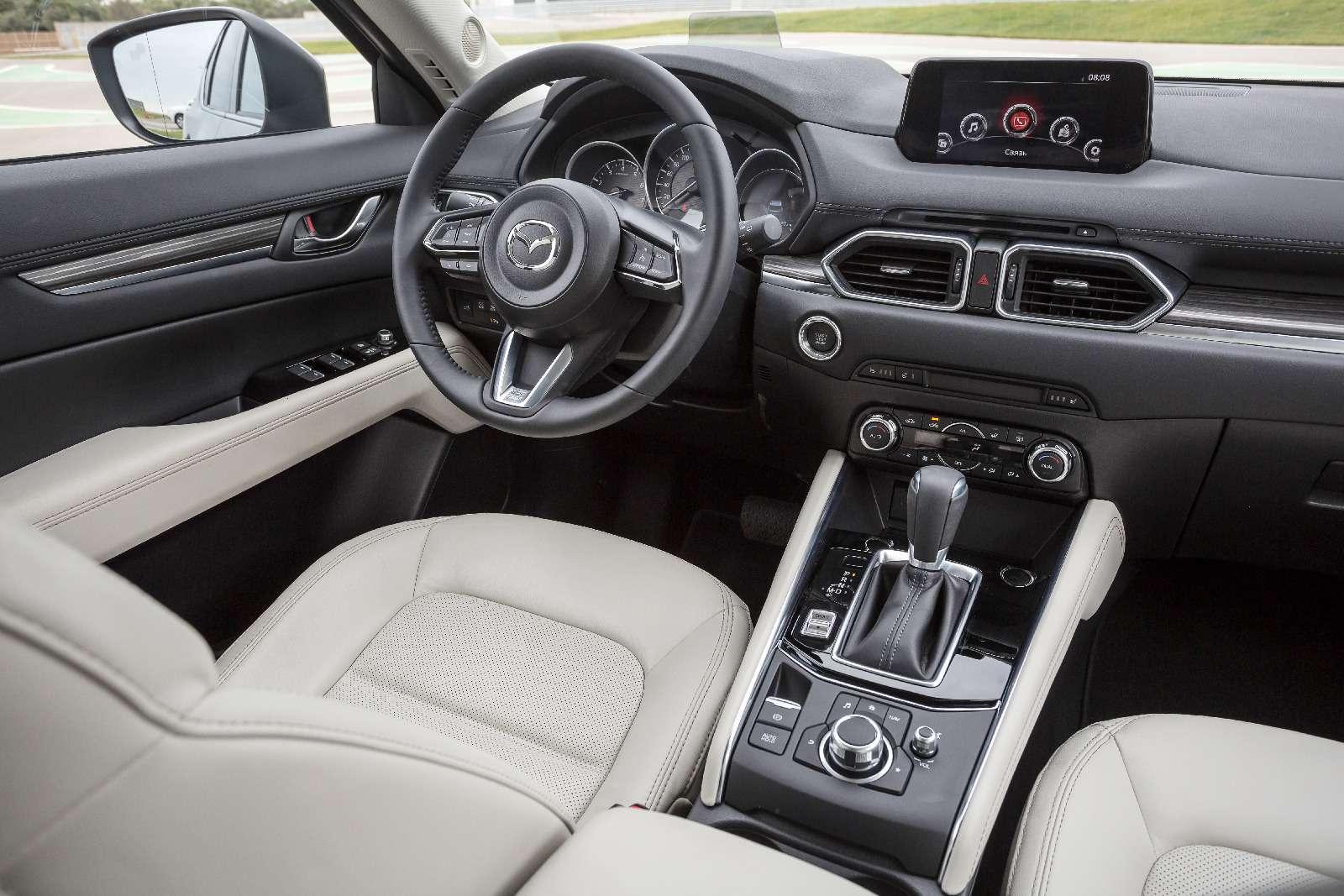 Mazda объявила рублевые цены накроссовер CX-5 второго поколения— фото 766909