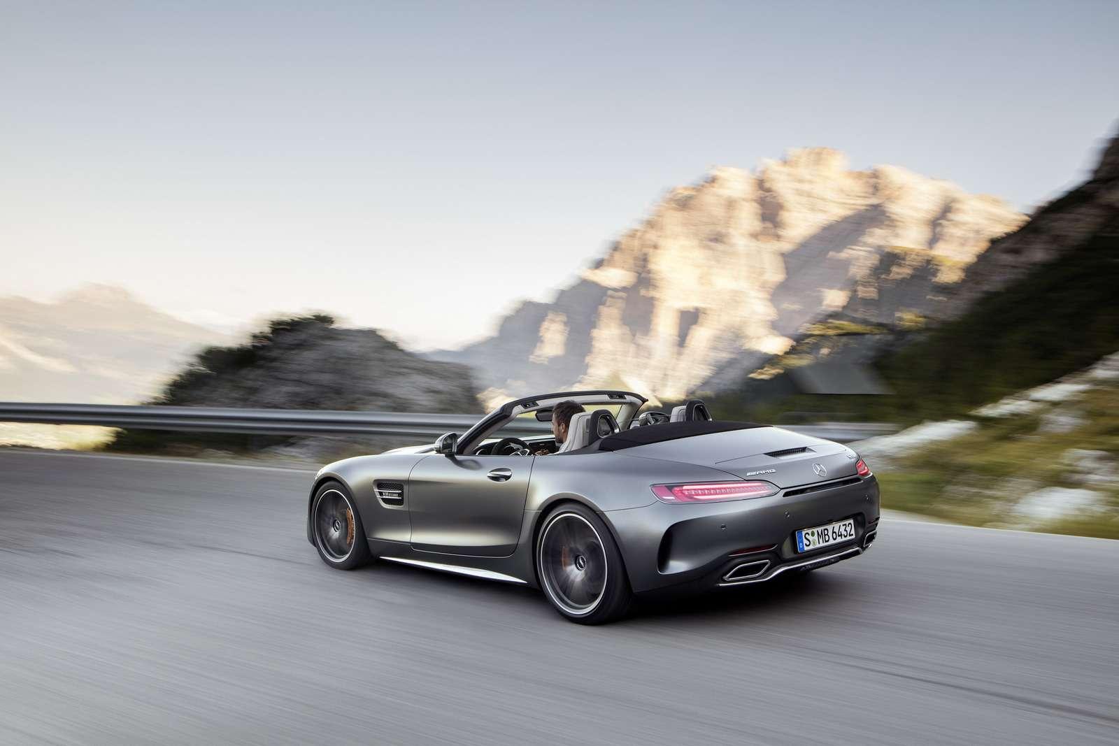 Mercedes-AMG GTRoadster: витамин С— фото 635018