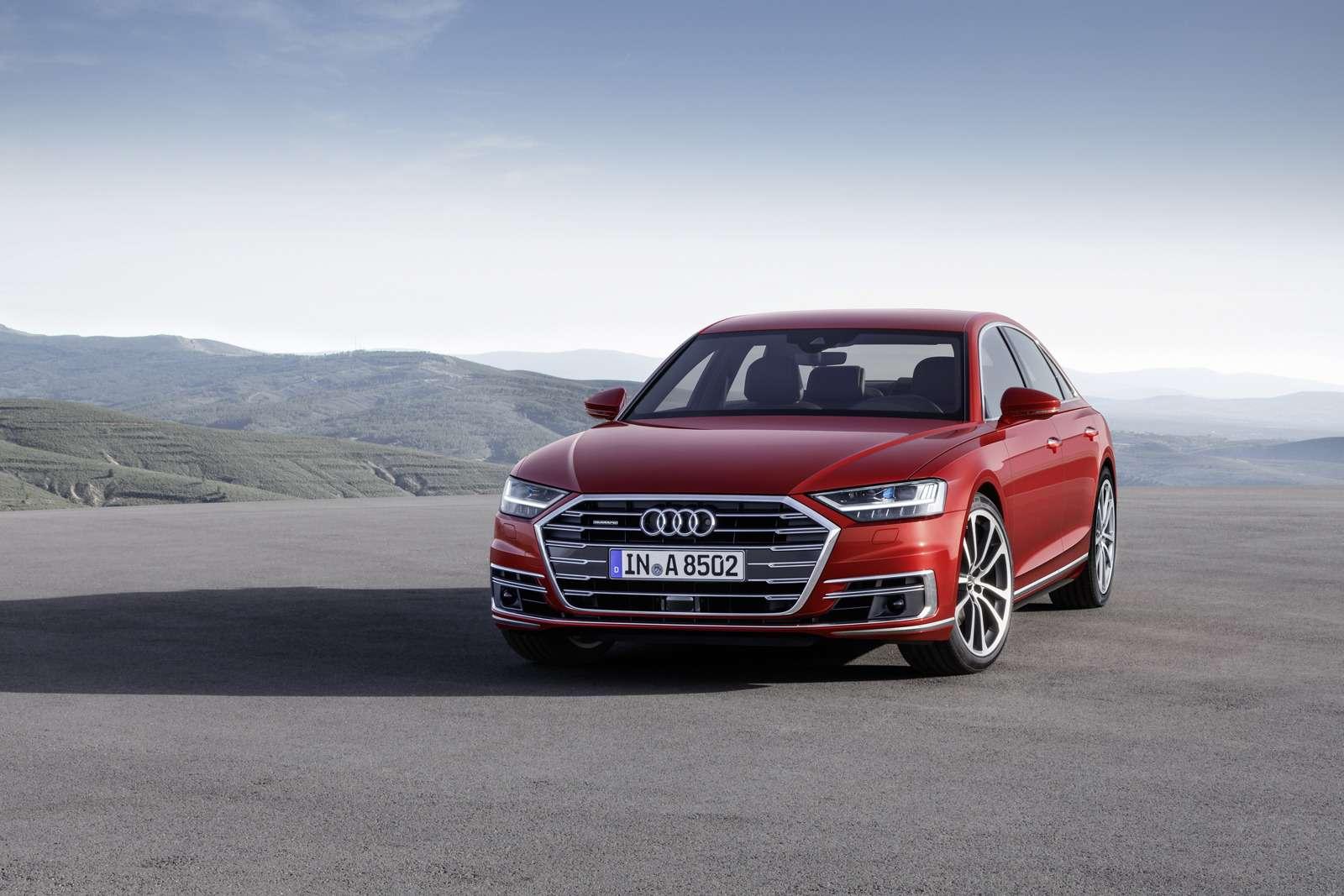 Технорывок Audi— премьера А8— фото 773524