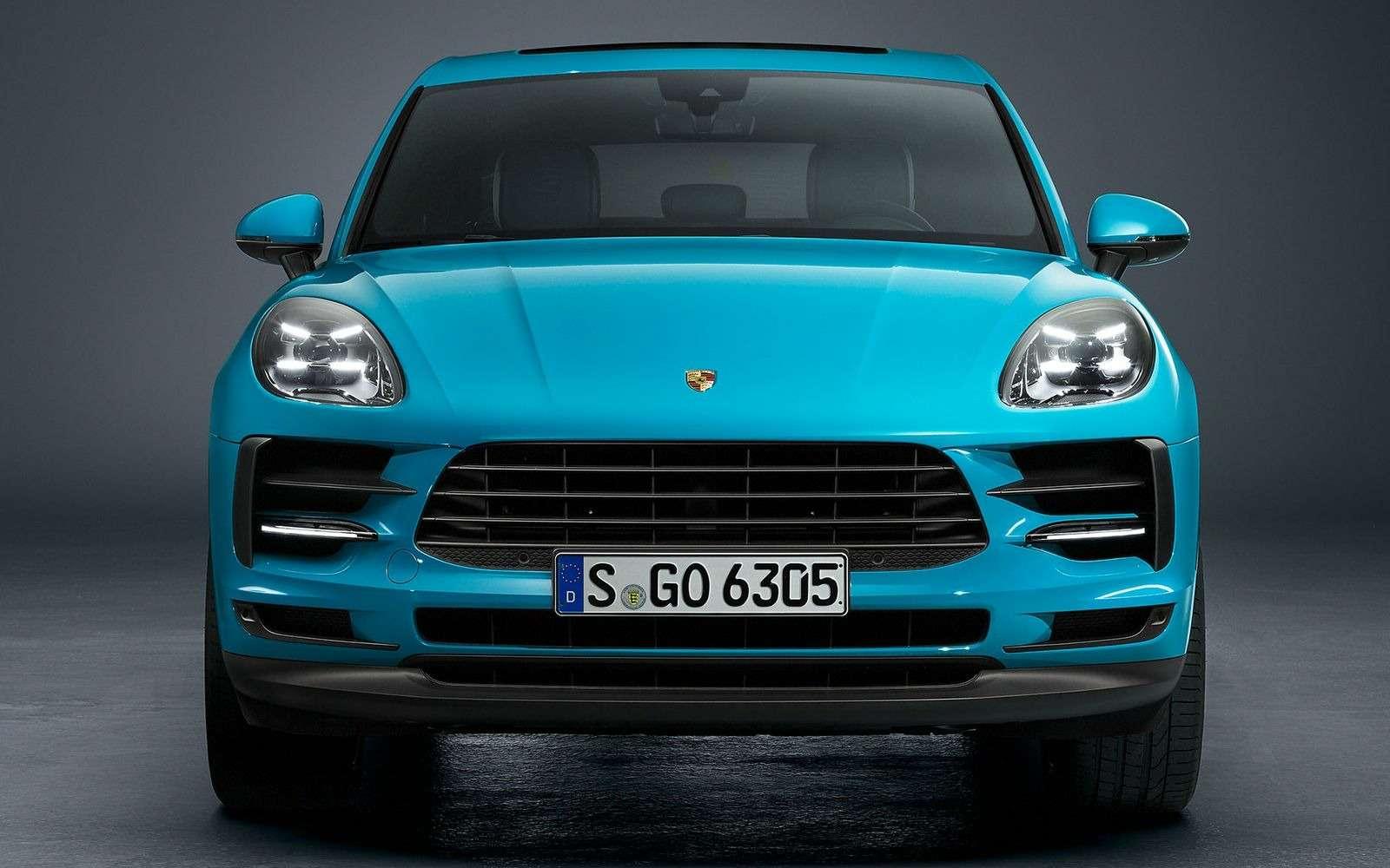 Обновленный Porsche Macan: широкий экран имотор отПанамеры— фото 890175