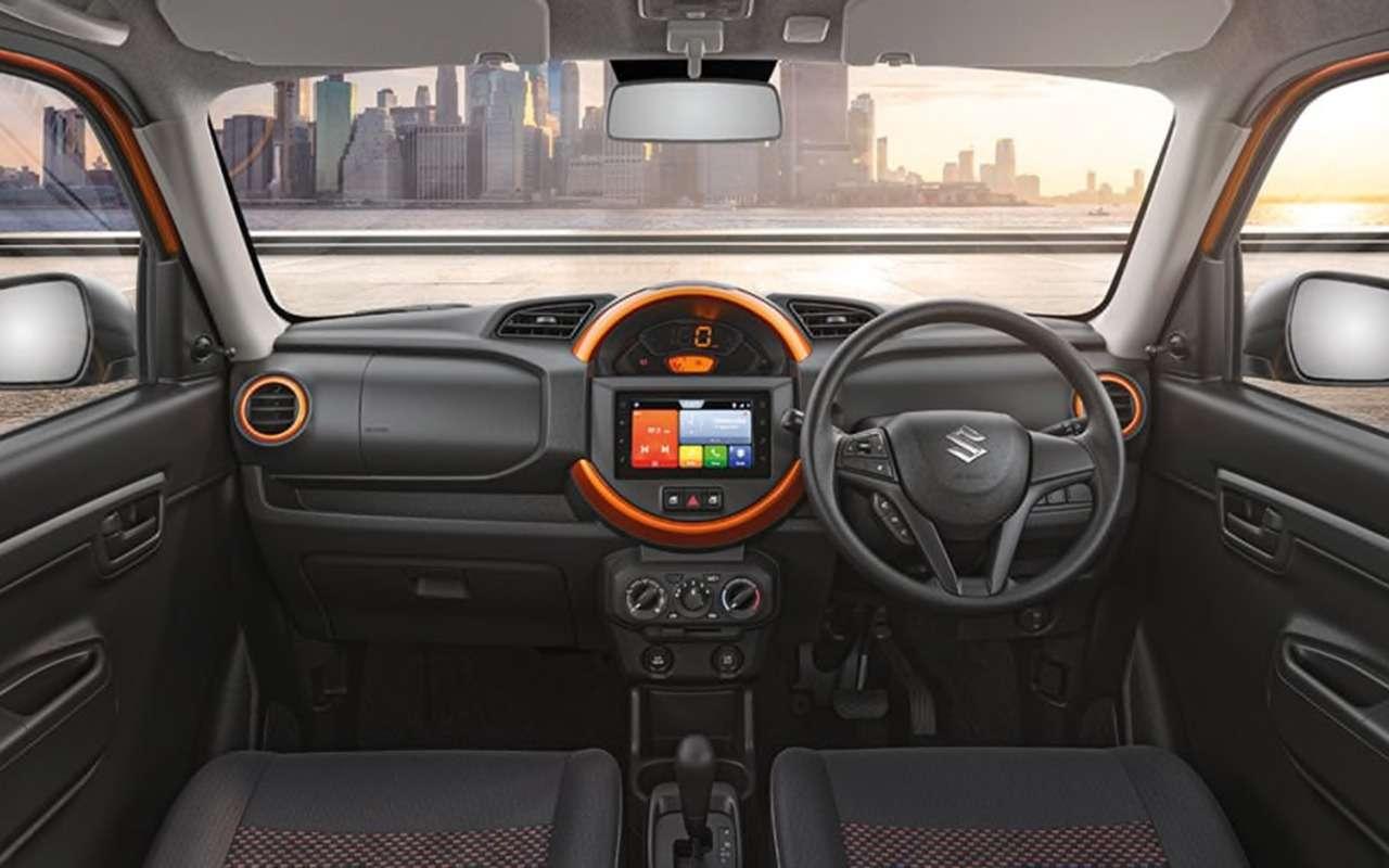 Suzuki готовит кпоказу бюджетный мини-кроссовер S-Presso