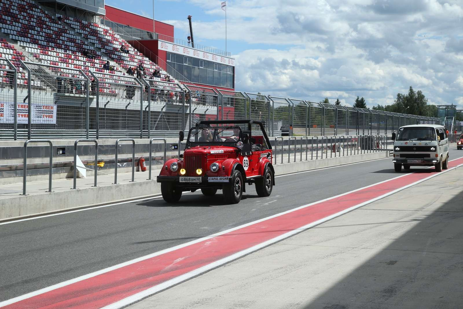 Болид ГАЗ-24«Зарулем» наMoscow Classiс Grand Prix— фото 608355