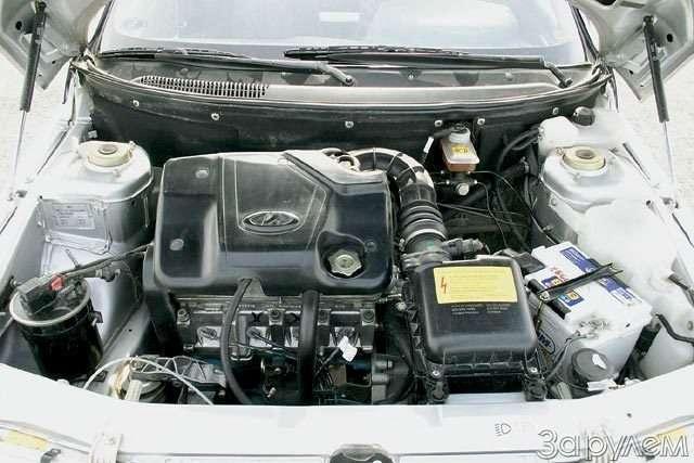 Lada 110, Lada Kalina. Первая производная— фото 56437
