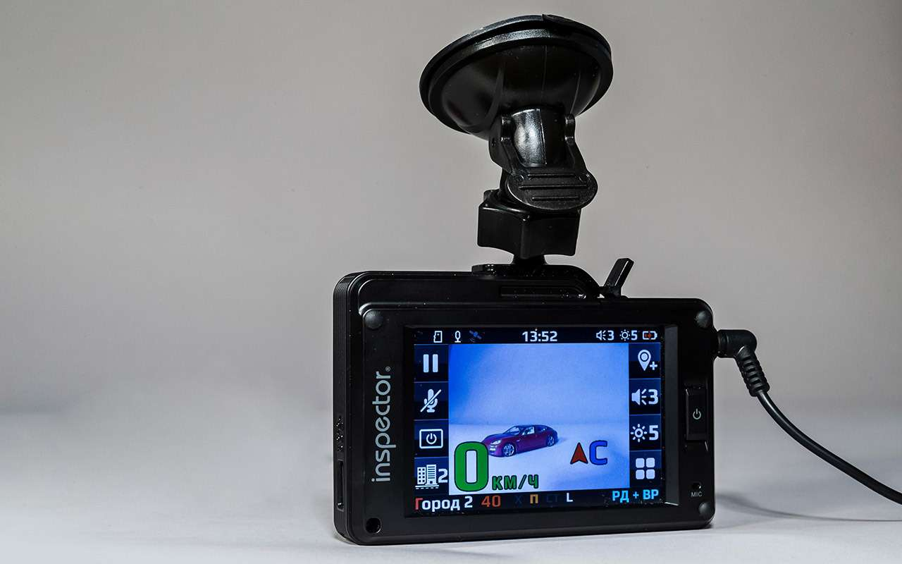 Классический или ввиде зеркала— какой видеорегистратор срадар-детектором лучше— фото 966774